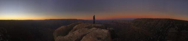 vista at the Grand Canyon